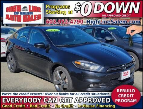 2014 Dodge Dart for sale at High Line Auto Sales of Salem in Salem NH