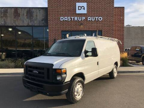 2012 Ford E-Series Cargo for sale at Dastrup Auto in Lindon UT