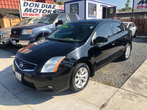 2011 Nissan Sentra for sale at DON DIAZ MOTORS in San Diego CA