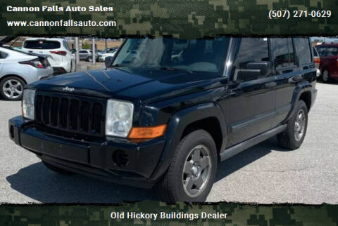 2006 Jeep Commander for sale at Cannon Falls Auto Sales in Cannon Falls MN