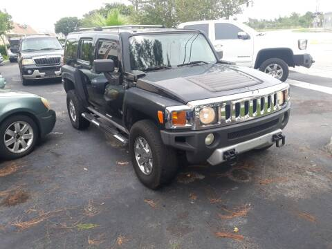 2008 HUMMER H3 for sale at LAND & SEA BROKERS INC in Deerfield FL