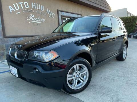 2004 BMW X3 for sale at Auto Hub, Inc. in Anaheim CA