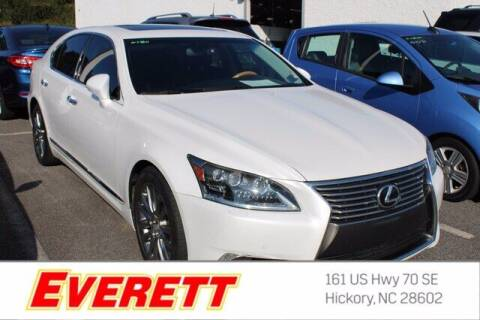 2014 Lexus LS 460 for sale at Everett Chevrolet Buick GMC in Hickory NC