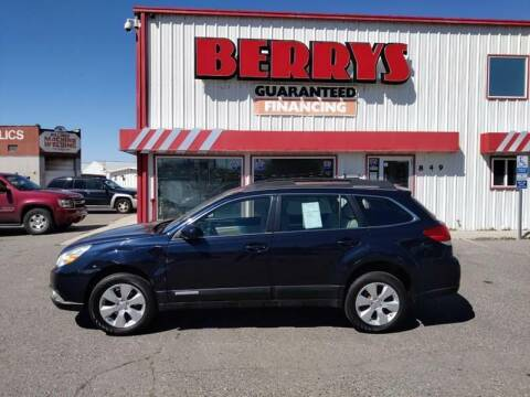 2012 Subaru Outback for sale at Berry's Cherries Auto in Billings MT
