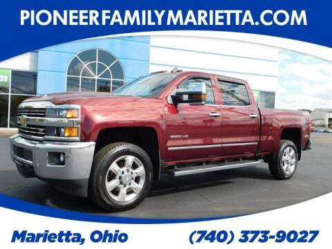 2017 Chevrolet Silverado 2500HD for sale at Pioneer Family preowned autos in Williamstown WV