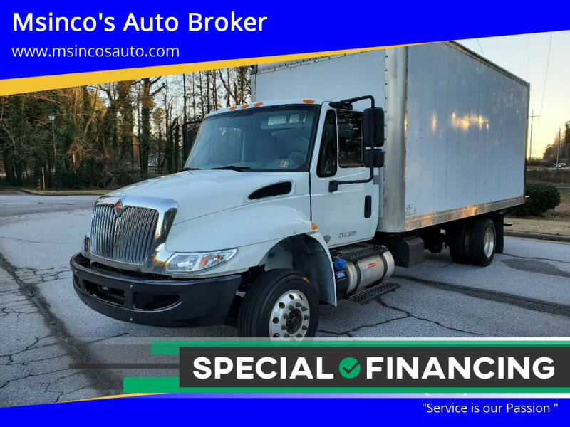 2017 International DuraStar 4300 for sale at Msinco's Auto Broker in Snellville GA