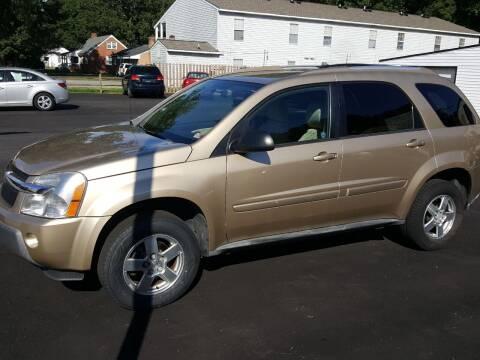 2005 Chevrolet Equinox for sale at Premier Auto Sales Inc. in Newport News VA