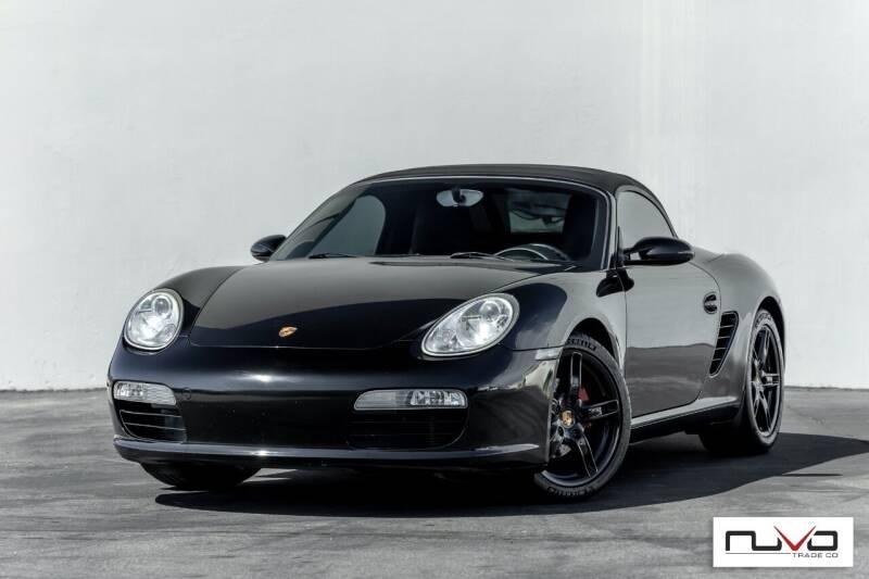 2007 Porsche Boxster for sale at Nuvo Trade in Newport Beach CA