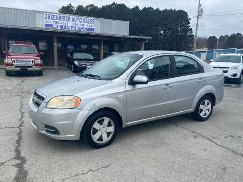 2007 Chevrolet Aveo for sale at Greenbrier Auto Sales in Greenbrier AR