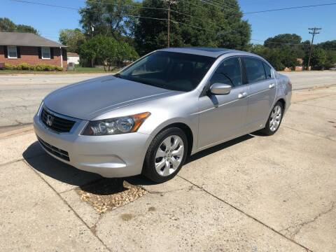 2010 Honda Accord for sale at E Motors LLC in Anderson SC