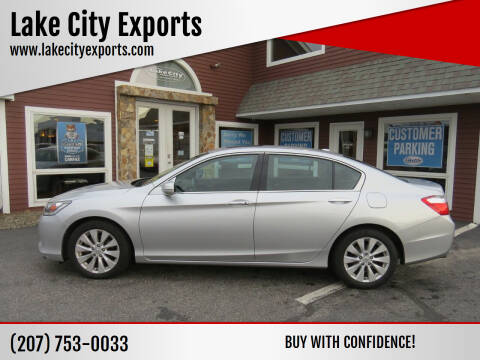 2014 Honda Accord for sale at Lake City Exports in Auburn ME