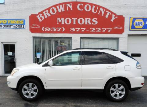 2007 Lexus RX 350 for sale at Brown County Motors in Russellville OH