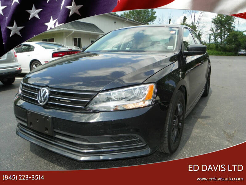 2016 Volkswagen Jetta for sale at Ed Davis LTD in Poughquag NY