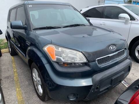 2011 Kia Soul for sale at America Auto Wholesale Inc in Miami FL