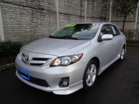 2011 Toyota Corolla for sale at Matthews Motors LLC in Algona WA