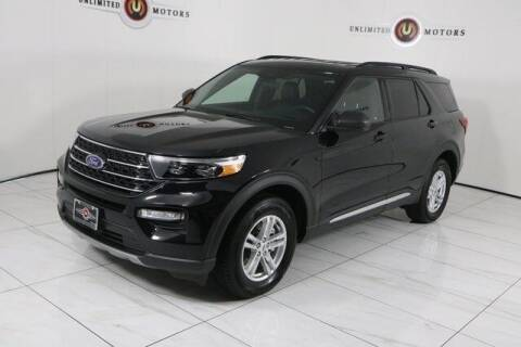 2020 Ford Explorer for sale at INDY'S UNLIMITED MOTORS - UNLIMITED MOTORS in Westfield IN