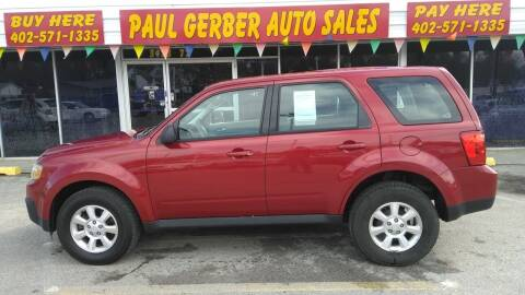 2011 Mazda Tribute for sale at Paul Gerber Auto Sales in Omaha NE
