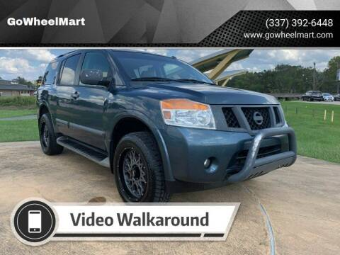 2013 Nissan Armada for sale at GOWHEELMART in Available In LA