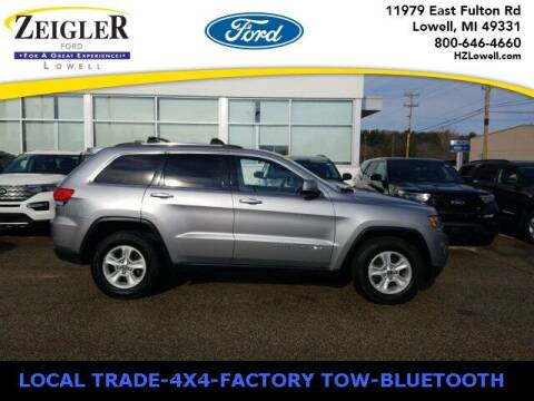 2014 Jeep Grand Cherokee for sale at Zeigler Ford of Plainwell- Jeff Bishop in Plainwell MI