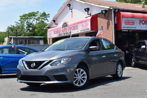2019 Nissan Sentra for sale at Foreign Auto Imports in Irvington NJ