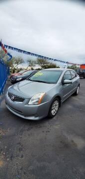2012 Nissan Sentra for sale at Juniors Auto Sales in Tucson AZ