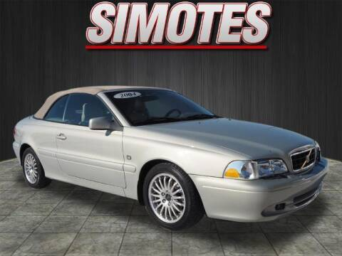 2004 Volvo C70 for sale at SIMOTES MOTORS in Minooka IL