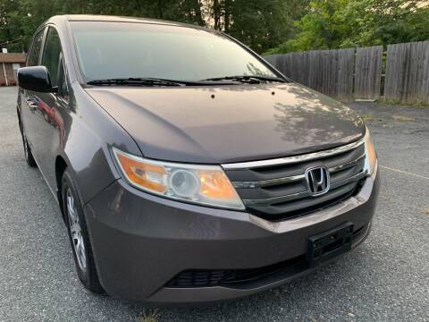 2011 Honda Odyssey for sale at D & M Discount Auto Sales in Stafford VA