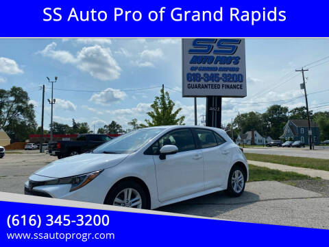 2020 Toyota Corolla Hatchback for sale at SS Auto Pro of Grand Rapids in Kentwood MI