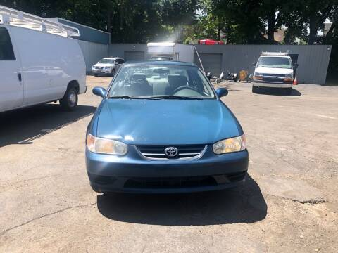 2002 Toyota Corolla for sale at Affordable Cars in Kingston NY