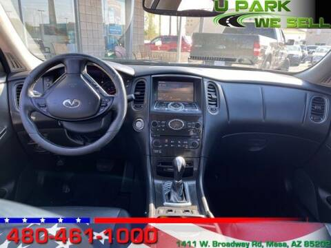 2008 Infiniti EX35 for sale at UPARK WE SELL AZ in Mesa AZ