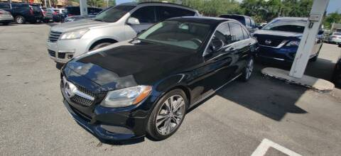 2017 Mercedes-Benz C-Class for sale at Max Auto Sales in Sanford FL