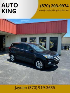 2019 Ford Escape for sale at AUTO KING in Jonesboro AR
