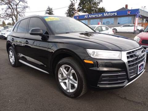 2018 Audi Q5 for sale at All American Motors in Tacoma WA
