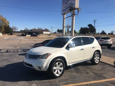 2007 Nissan Murano for sale at Patriot Auto Sales in Lawton OK