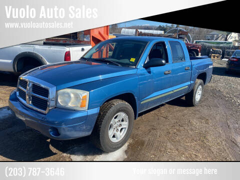 2005 Dodge Dakota for sale at Vuolo Auto Sales in North Haven CT