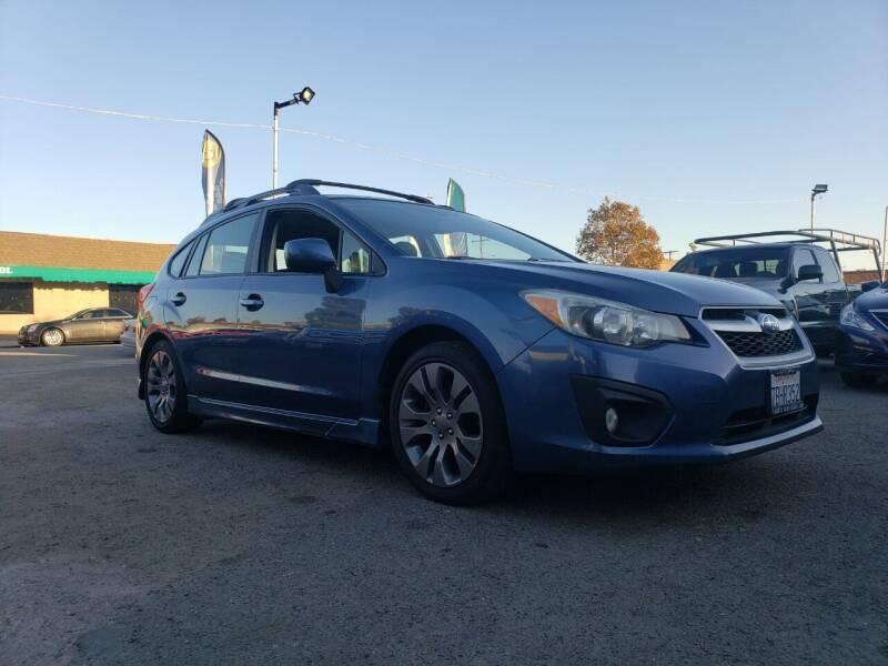 2013 Subaru Impreza for sale at LR AUTO INC in Santa Ana CA