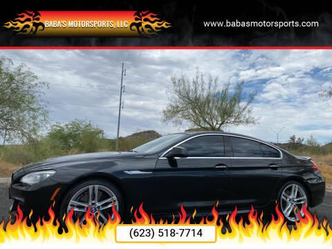 2013 BMW 6 Series for sale at Baba's Motorsports, LLC in Phoenix AZ