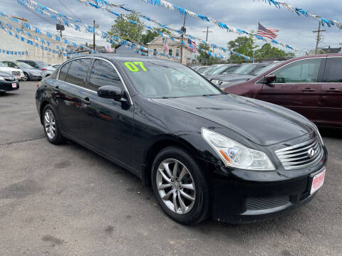 2007 Infiniti G35 for sale at Riverside Wholesalers 2 in Paterson NJ