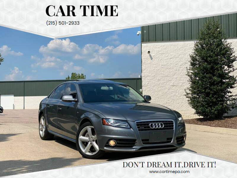 2012 Audi A4 for sale at Car Time in Philadelphia PA