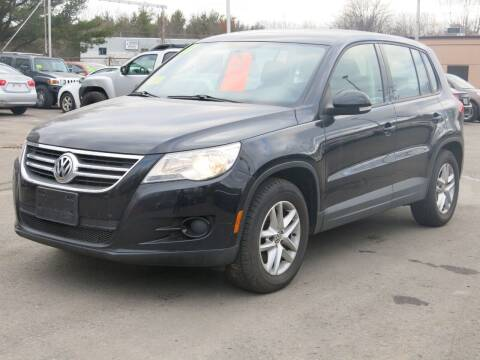 2011 Volkswagen Tiguan for sale at United Auto Service in Leominster MA