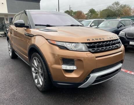 2014 Land Rover Range Rover Evoque for sale at KAYALAR MOTORS in Houston TX