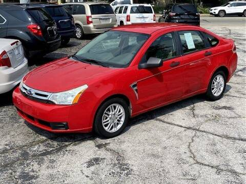 2008 Ford Focus for sale at Sunshine Auto Sales in Huntington IN