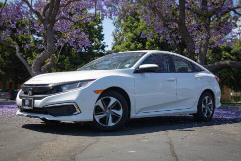 2019 Honda Civic for sale at 605 Auto  Inc. in Bellflower CA