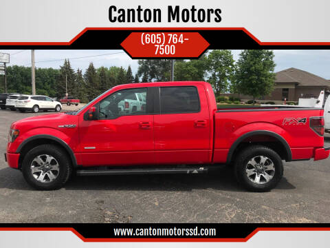2013 Ford F-150 for sale at Canton Motors in Canton SD