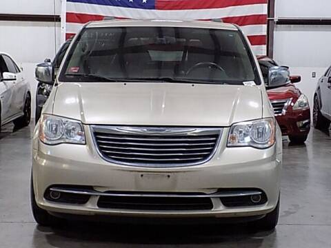 2012 Chrysler Town and Country for sale at Texas Motor Sport in Houston TX