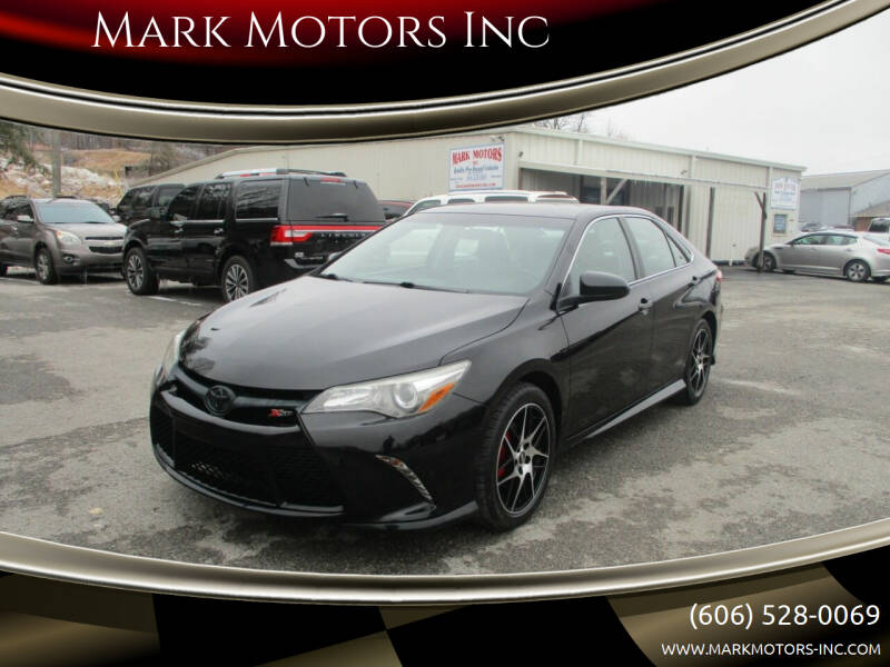 2016 Toyota Camry for sale at Mark Motors Inc in Gray KY