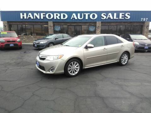 2014 Toyota Camry for sale at Hanford Auto Sales in Hanford CA