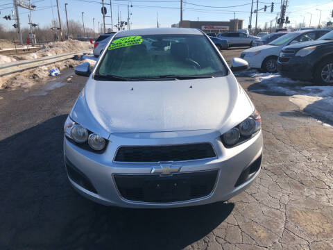 2014 Chevrolet Sonic for sale at Discovery Auto Sales in New Lenox IL
