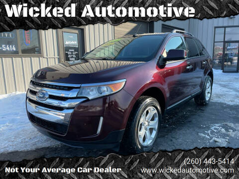 2011 Ford Edge for sale at Wicked Automotive in Fort Wayne IN