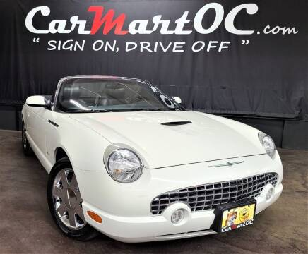 2003 Ford Thunderbird for sale at CarMart OC in Costa Mesa, Orange County CA